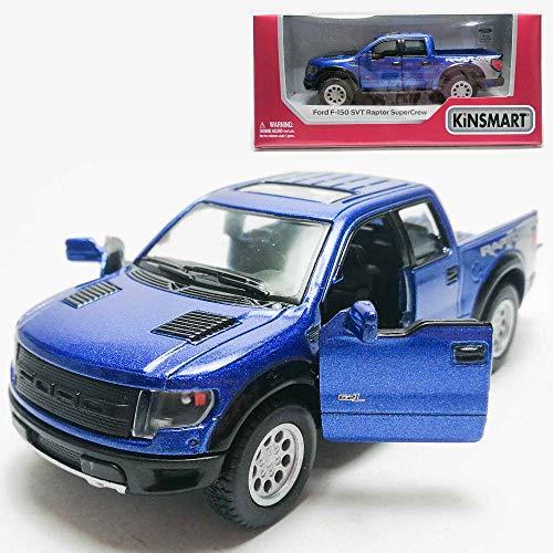 1 46 150 Car 2013 Ford Kinsmart Model Metal Collection Gift Die With Blue Christmas Supercrew Box New F Raptor Cast Svt RLAjq34c5