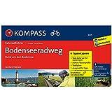 Bodenseeradweg rund um den Bodensee: Fahrradführer mit Routenkarten im optimalen Maßstab. (KOMPASS-Fahrradführer, Band 6601)