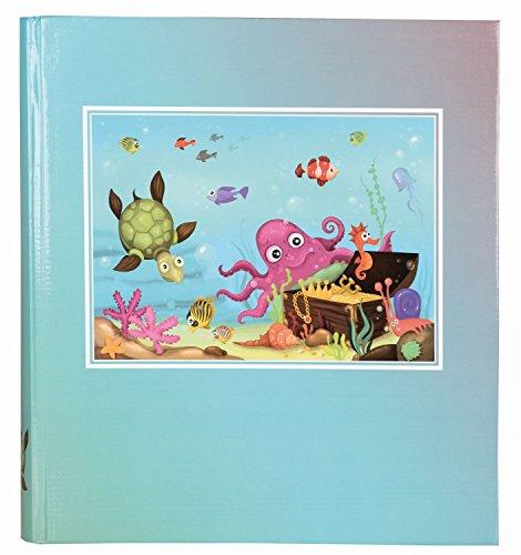 Idena 541121 - Álbum gigante (50 páginas en pergamino), diseño de mundo submarino