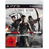 Tomb Raider + Just Cause 2 + Sleeping Dogs - Ultimate Action Triple Pack (PS3) DE-Version