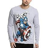 Best AVENGERS For Men - Avengers Men's Printed Regular Fit T-Shirt Review