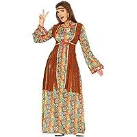 Guirca - Disfraz adulta hippie, Talla 42-44 (88290.0)