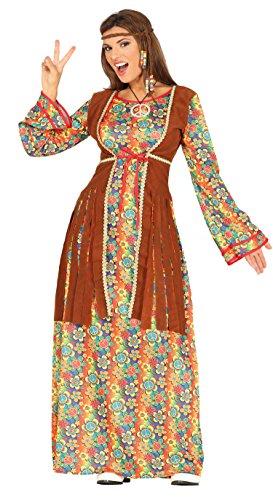 Guirca Disfraz adulta hippie, Talla 42-44 (88290.0)