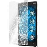 PhoneNatic 2 x Protection écran Verre trempé Clair Compatible avec Nokia Lumia 830