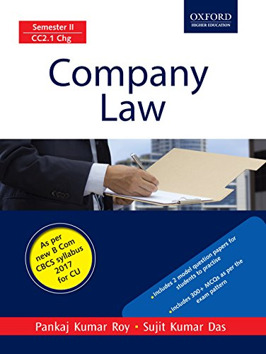 Company Law: For B.Com Students of University of Calcutta