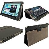 igadgitz A1870 10.1' Funda Negro funda para tablet - Fundas para tablets (Funda, Samsung, Galaxy Tab 2 10.1 P5100, P5110, 25,6 cm (10.1'), Negro)