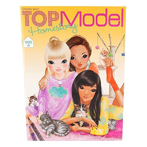Preisvergleich Produktbild Depesche 7887 - TopModel Homestory Malbuch, 24 Seiten
