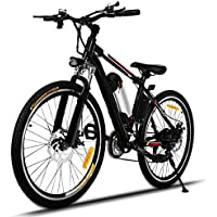 Befied Elektrofahrrad Klappfahrrad 16 / 20 Zoll Faltende / 25 Zoll Mountainbike abziehbar Li-Ion Akku E-Bike Hinterradbremse Spannung: 36V/250W