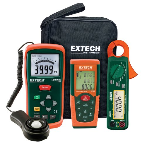 Best Price Extech LRK15 Lighting Retrofit Kit with Power Clamp Meter Online