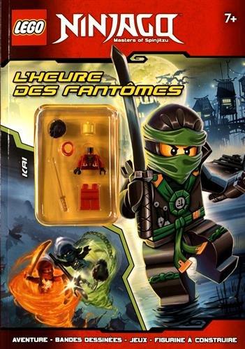Lego Ninjago Masters of Spinjitzu : L'heure des fantômes - Avec une figurine à assembler