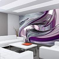 Fototapete Abstrakt Perlen Illustration lila grau silber Formen no 372