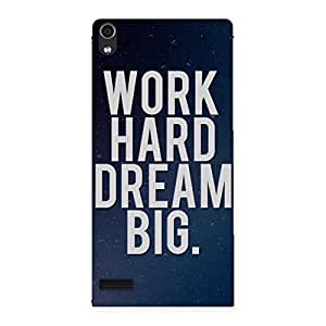 Enticing Hard Dream Back Case Cover for Ascend P6