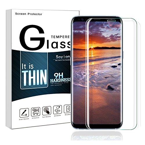 Preisvergleich Produktbild Samsung Galaxy S8 Plus Schutzfolie,  Galaxy S8 Plus Panzerglas,  9H Härte,  Klar HD Ultra,  Anti-Kratzen Panzerglasfolie,  Schutzglas Glasfolie Displayschutzfolie für S8 Plus