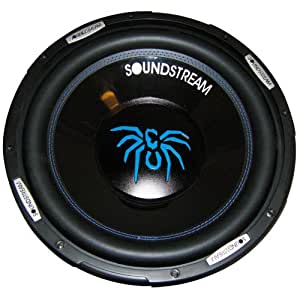"SOUNDSTREAM SS12 12"" 1000WATTS DUAL VOICE COIL SUBWOOFER"