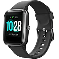 "Willful Smart Watch,1.3"" Touch Screen Smartwatch,Fitness Trackers With Heart Rate Monitor,Waterproof IP68 Fitness Tracker Watch Pedometer Stopwatch,Smart Watch for Men Women for iPhone Android Phone"