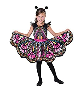 Bristol CF102 - Mariposa (aprox. 7 a 9 años), diseño de niña, multicolor, tamaño grande