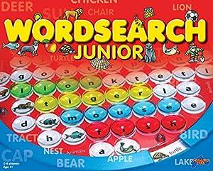 Wordsearch Junior - Juego Educativo, 4 Jugadores (Drumond Park 1610) (versión en inglés)