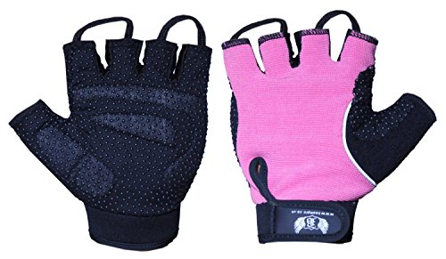 BOOM-Pro-Ladies-GEL-Cycling-GlovesFitnessGym-GlovesWeight-LiftingWheel-Chair-Gloves-L