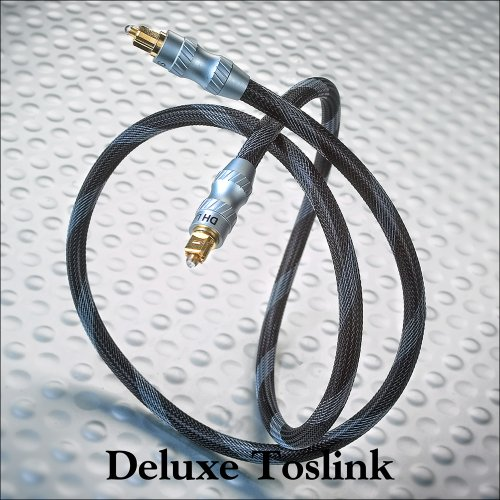 DH Labs Silversonic Deluxe Toslink Optisches Kabel 6,0 meter von Silber Sonic (Monster Cable 6 Meter)