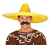 Guirca - Sombrero mexicano paja, Talla única (13144.0)