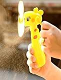 #10: Akhand Portable Hand Mist Spray Fan Toy With Water Tank for Kids