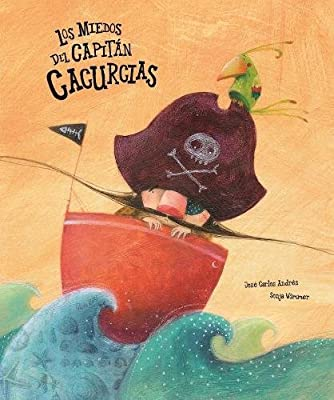 El capitán Cacurcias era el más valiente de todos los piratas, pero hace poco tiempo empezó a tener miedo de todo. Hasta de su sombra. En el barco del Fantasma de los ojos azules, Cacurcias tendrá que enfrentarse al fantasma, a un vampiro... y hasta...