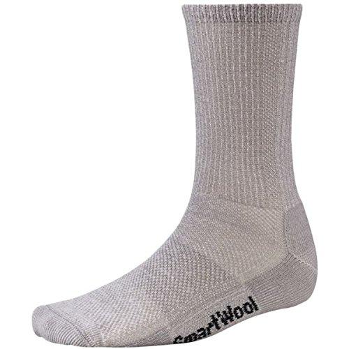 Smartwool, Calze da escursionismo, ultra leggere, performanti grigio grigio medio (Rib Socks)