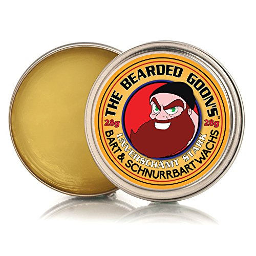 The Bearded Goon's Lächerlich Starke Beard & Handlebar Moustache Mustache Wax - 28g (30ml)