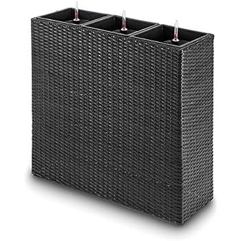 raumteiler mit rankgitter l85x b31x h30 120cm aus. Black Bedroom Furniture Sets. Home Design Ideas