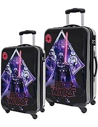 Star Wars Darth Vader Set de Maletas, 53 Lt, Color Negro