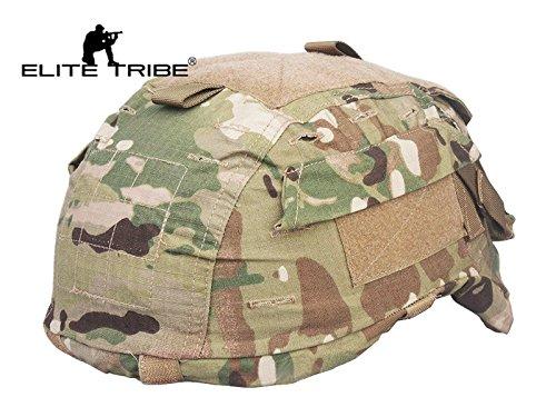 Elite Tribe Airsoft Caza Casco para Casco táctico Funda para Mich TC2001ACH...