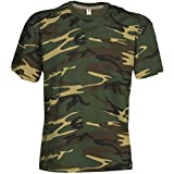 Kids camuflaje Classic Army Style–Camiseta de manga corta para niños en color camuflaje