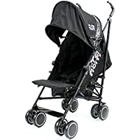 Zeta Citi Black Stroller Buggy Pushchair by Baby Travel
