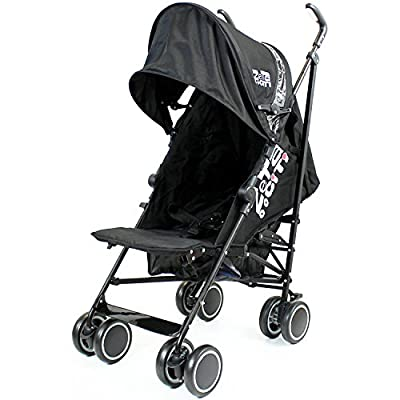 Zeta Citi Black Stroller Buggy Pushchair