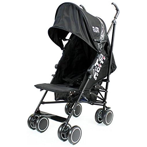 Zeta Citi Black Stroller Buggy Pushchair 51k DT6twqL