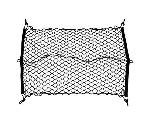 Auto elastischen Nylon Kofferraumnetz Gep?cknetz 60x90cm Cargo Net Mercedes