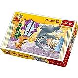 Trefl - Puzzle Tom y Jerry de 30 piezas (21.3x14.3 cm) (18150)
