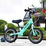 JW-ETPHC Balance Bikes Kinder Walker Doppelrad ohne Pedal Fahrrad Slither Auto Outdoor Sports...
