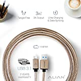 #5: ALIAN Type C Cable [CHECK-R Passed] (Supports Samsung S8/S8+, OnePlus, MacBook, LeEco, Nexus, Pixel, Xiaomi, Meizu, Gionee, Samsung, Nokia, Microsoft Lumia and many other devices)