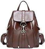 BOYATU Leder Rucksäcke für Damen Geldbörse Rucksack Schulter Damen Fashion Daypack