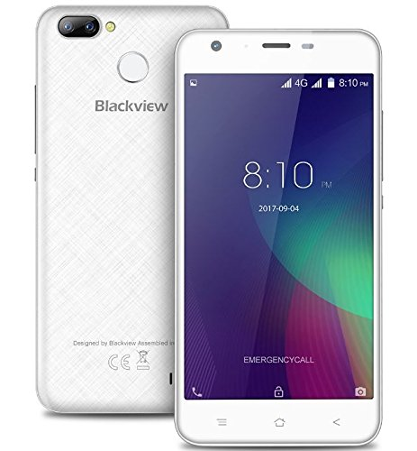 Blackview A7 PRO - 5.0 pulgadas IPS pantalla 4G Android 7.0 smartphone Cámaras Triple (5MP + 0.3MP + 8MP), 1.3GHz Quad...