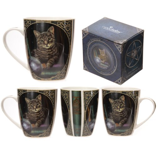 Puckator MULP24 Lisa Parker Mug avec Chat 8 x 12 x 10 cm
