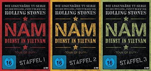 NAM - Dienst in Vietnam - Staffel 1 - 3 komplett im Set - Deutsche Originalware [24 DVDs]