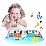 per Pianos Pataditas Bebés para Cuna Colgantes Musicales Cuna Alfombras Infantiles Bebés Recién Nacidos 0-12 Meses