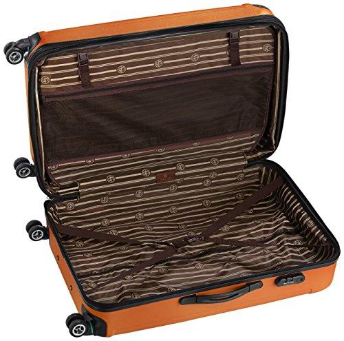 Shaik 7204073 Trolley Koffer, 50 Liter, Orange -