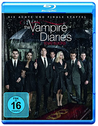 The Vampire Diaries: Die 8. und finale Staffel [Blu-ray] (Diaries Set Vampire Box)
