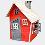 Umweltfreundliches Spielhaus für Kinder aus Fichtenholz Kinderspielhaus Holzhaus Garten