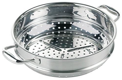 Kuhn rikon 37034 - accessorio per wok high dome, per cottura a vapore, 28 cm