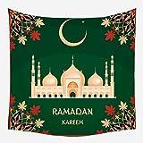 xkjymx Festival de Ramadán Islámico Tapiz Lienzo Decorativo Hogar Colgante de Playa Toalla de Playa GT05-5 95X73