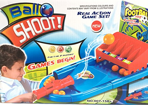 SLYTEK Ball Shoot Action Game Set For Kids Super Sports Game - 1 to 2 Players Game